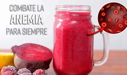 Este Batido Con Frutos Rojos Combate la Anemia y Le Aporta Hierro A Tu Cuerpo Si Lo Tomas Temprano