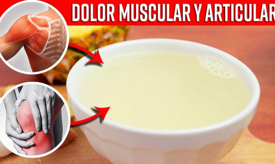 Bebida Natural Para Detener Los Dolores Musculares Lumbares Y Articulares Milagrosamente