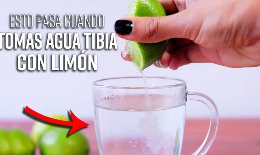 Bebe Agua Tibia Con Limon En Ayunas y Me Lo Agradecerás Por Toda La Vida